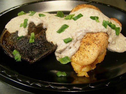 Chicken Portabella